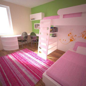 3 starostne skupine otrok in opremljanje otroške sobe