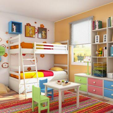 Na splošno o izboru barv za otroško sobo