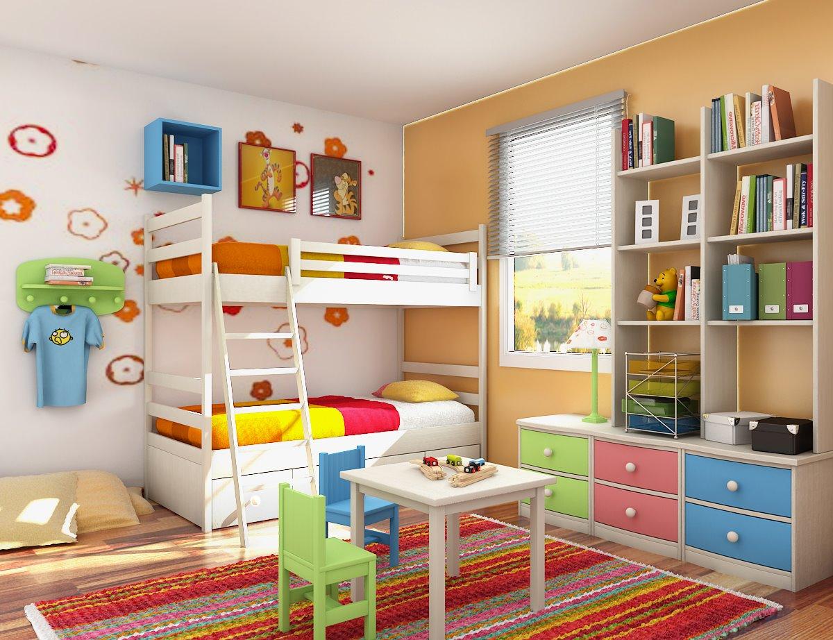 barve za otroško sobo