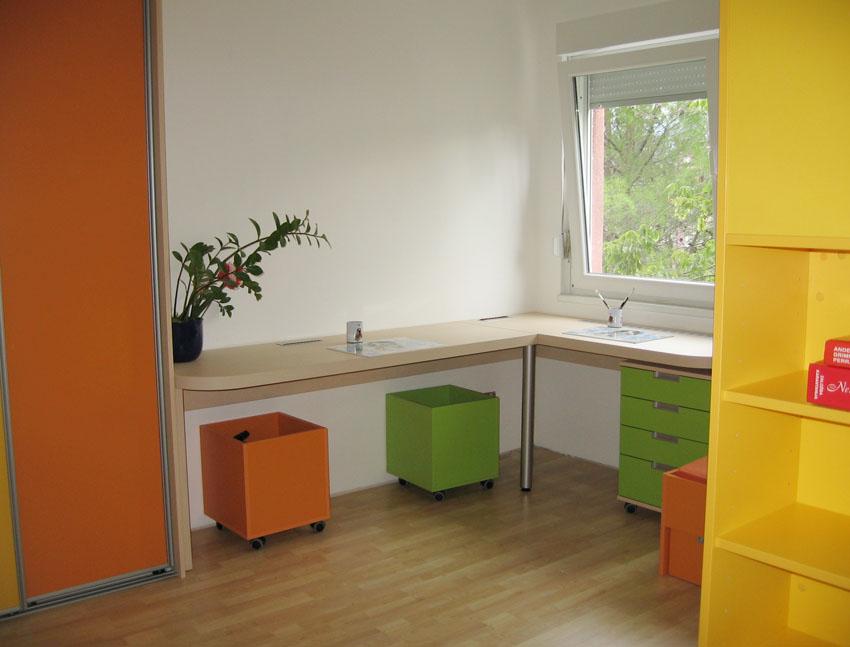 otroške sobe po elementih