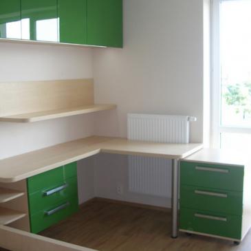 Trije prikazi izkoristka prostora v otroških sobah