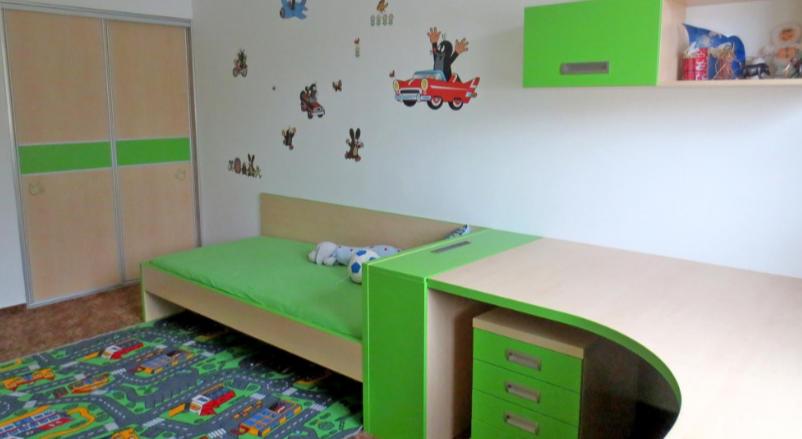 mladinska soba v zelenem