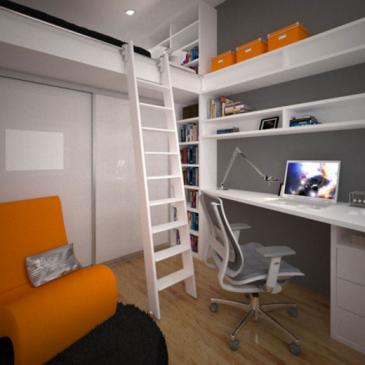 3 ideje za mladinske sobe za fante
